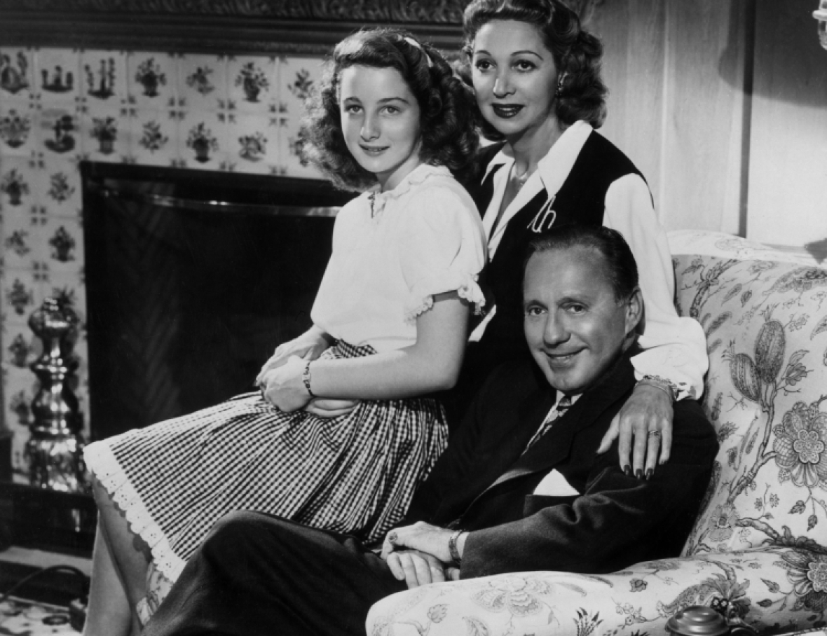 jack benny family getty images