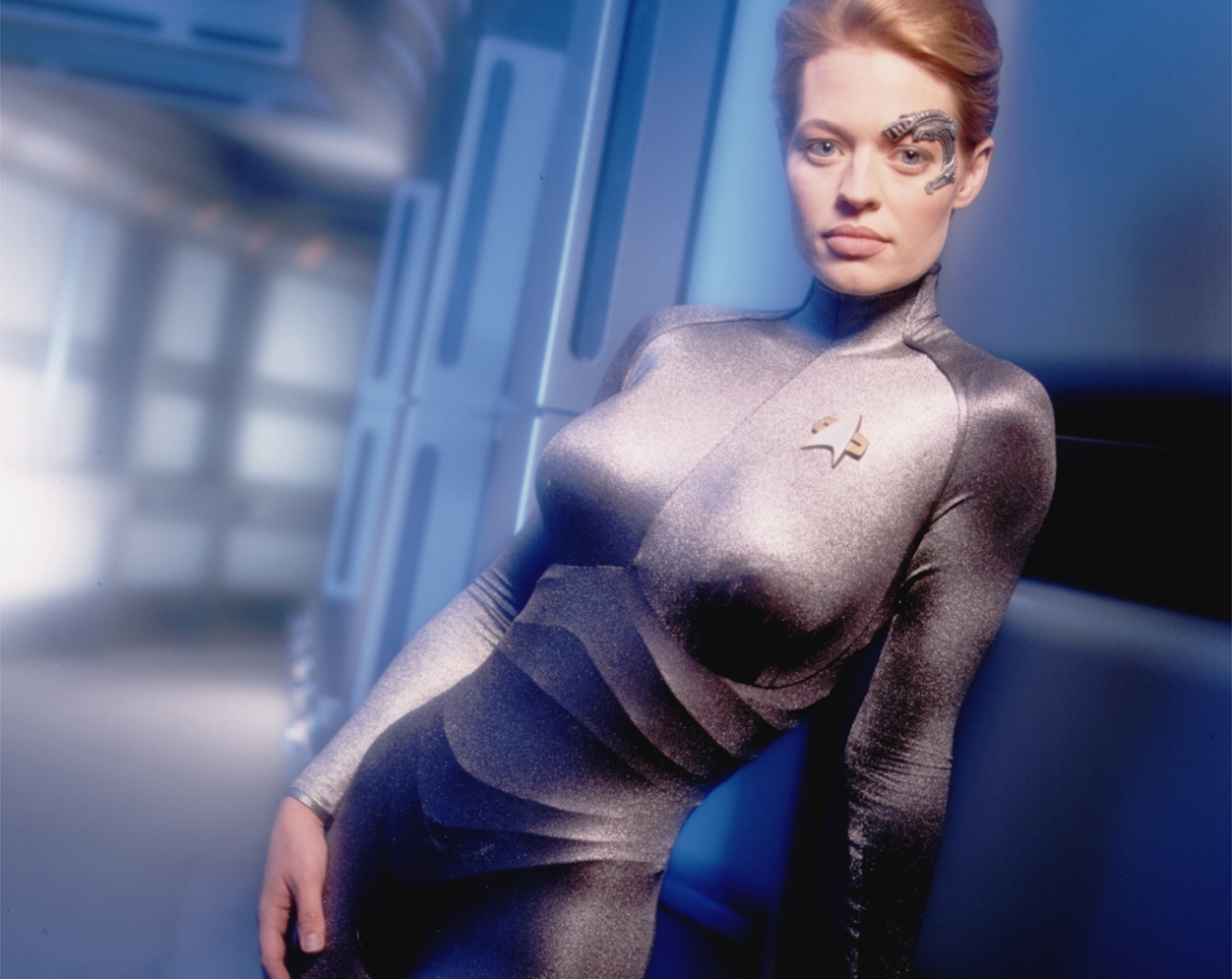 jeri ryan star trek voyager