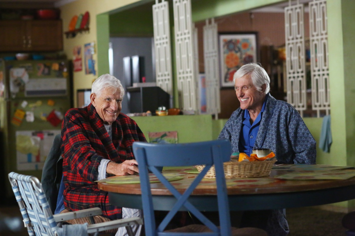 jerry and dick van dyke the middle getty