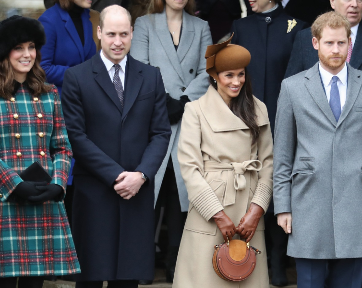 kate middleton meghan markle getty images
