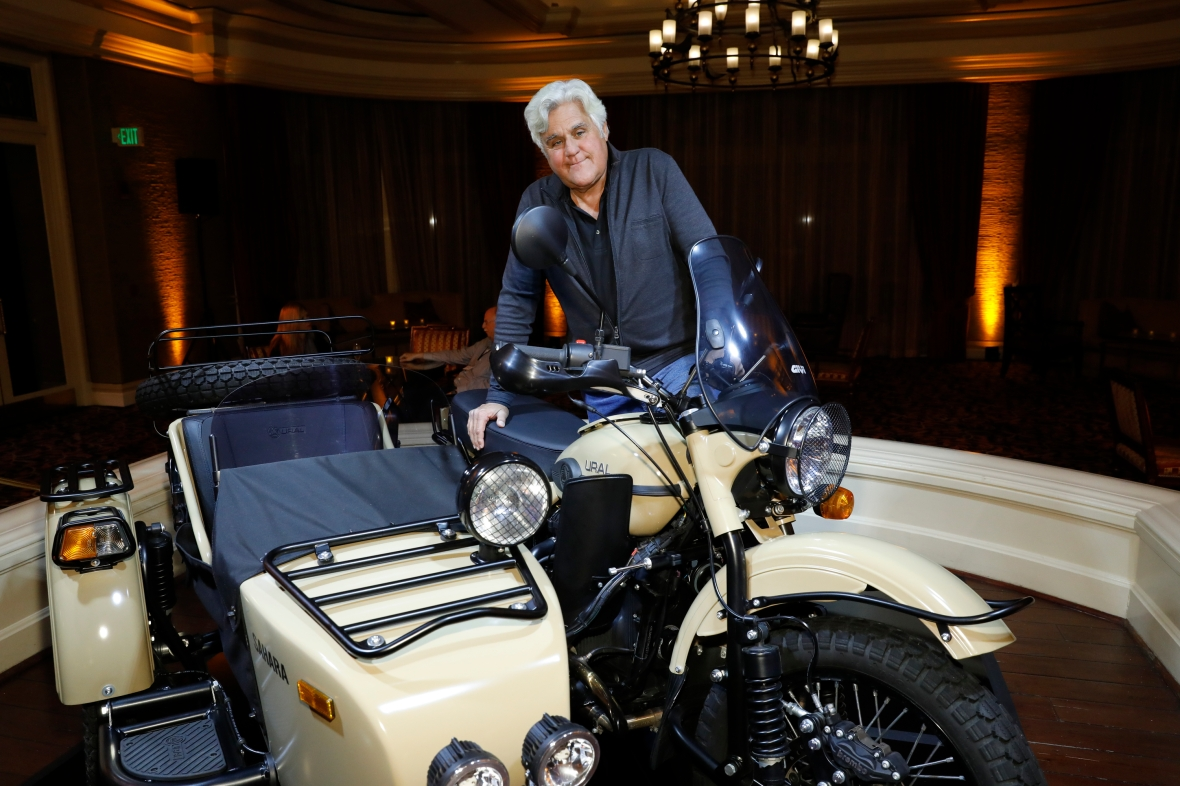 jay leno garage getty images