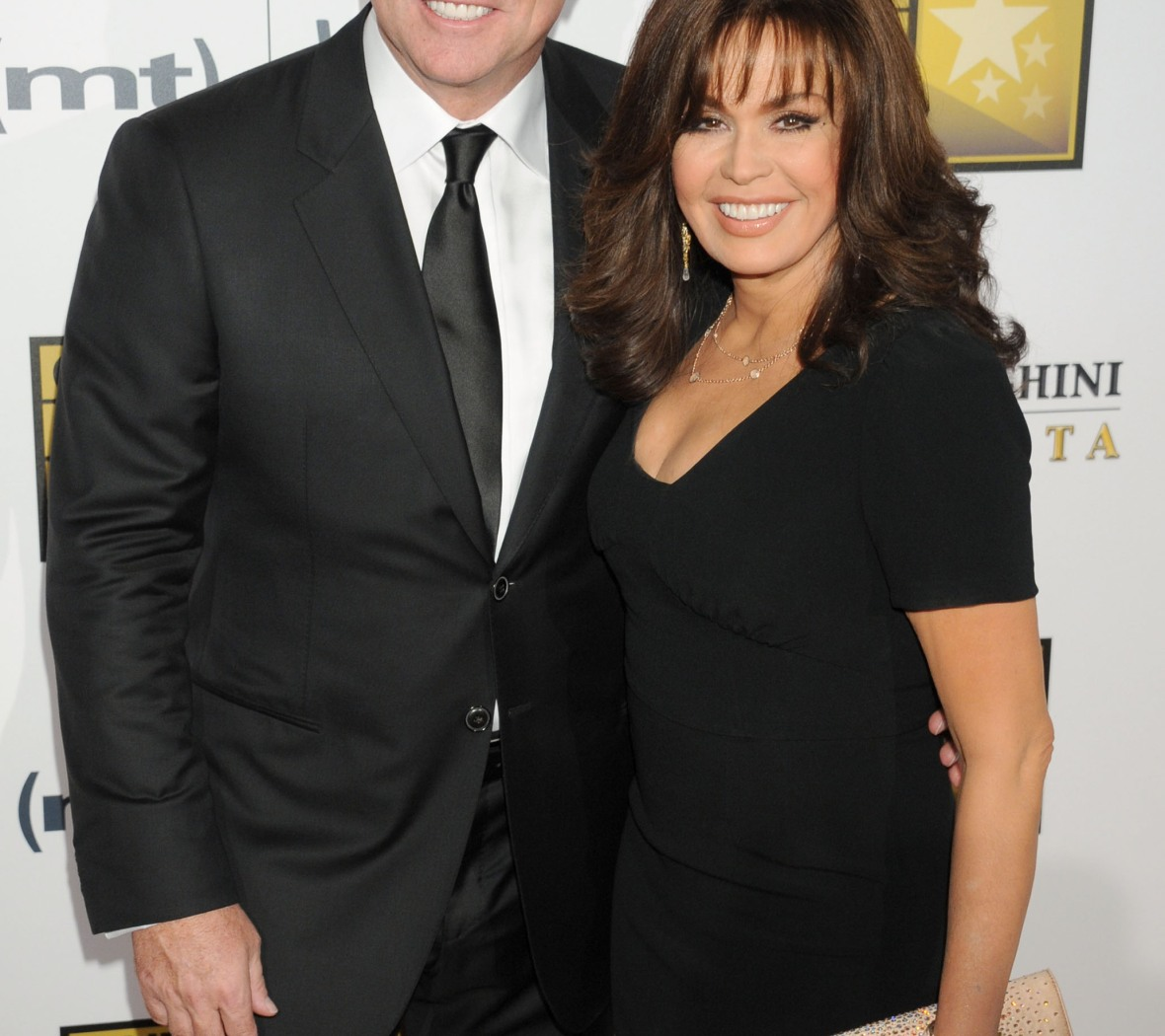 marie osmond and her husband getty images