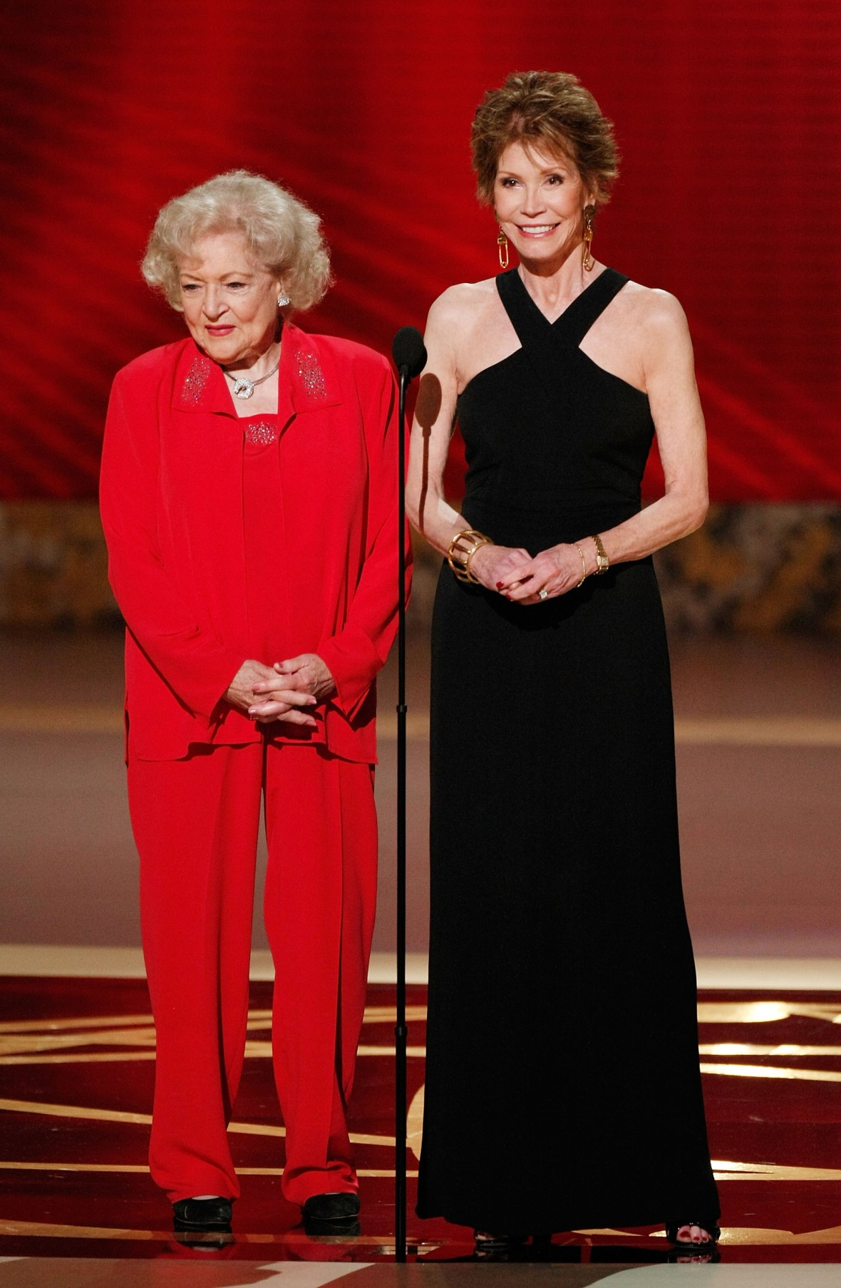 mary tyler moore betty white getty images