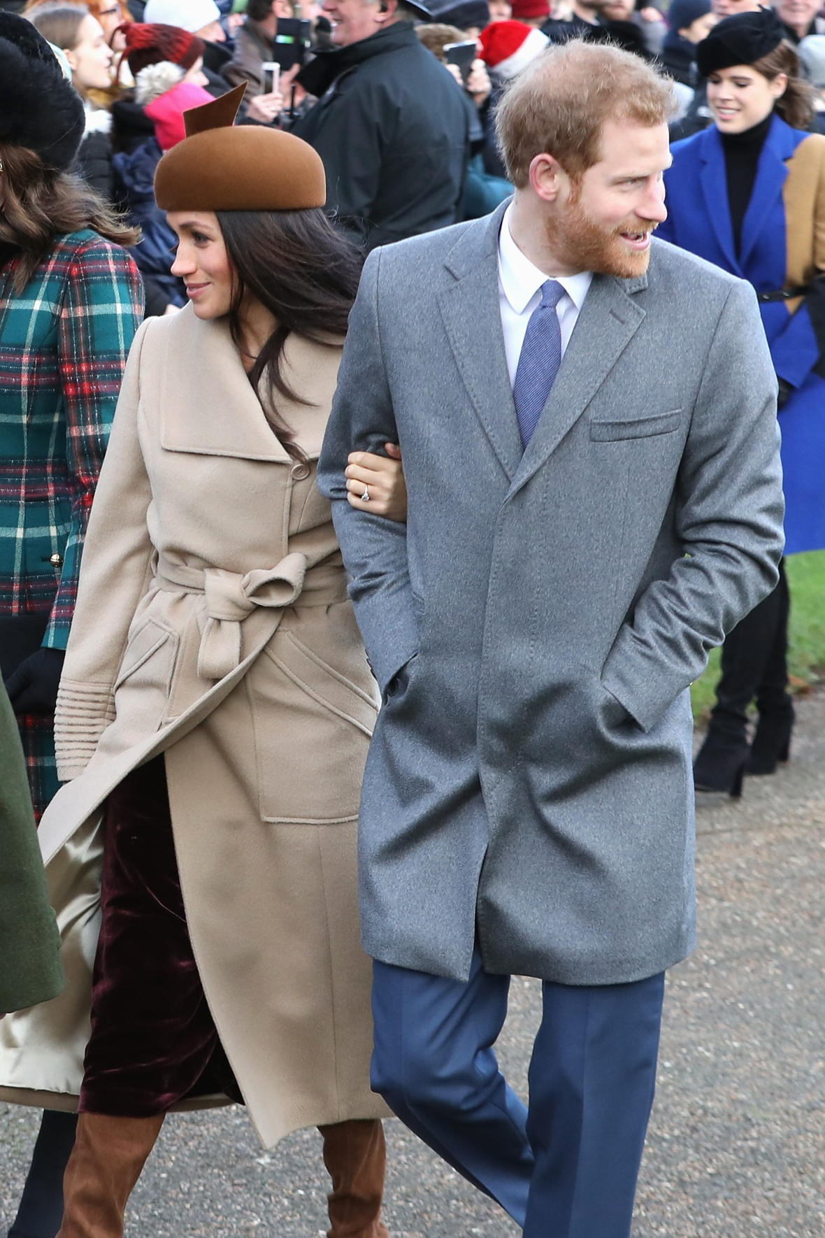 meghan markle christmas dress getty images