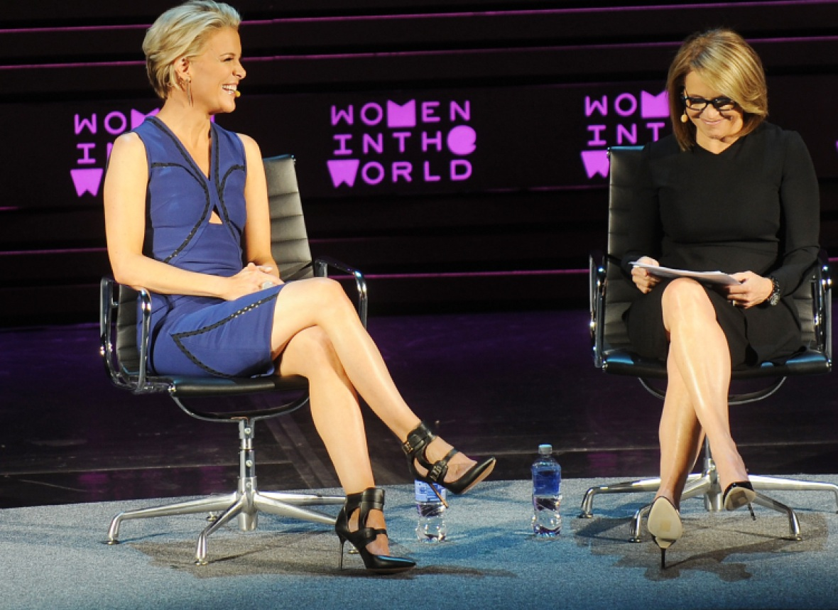 megyn kelly katie couric getty images