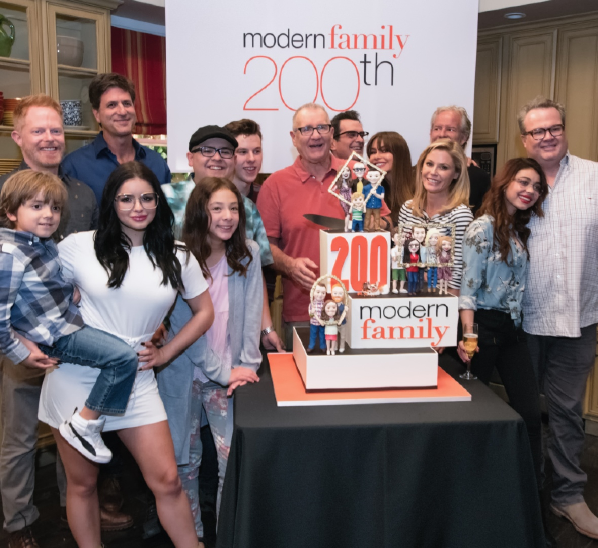 'modern family' getty images