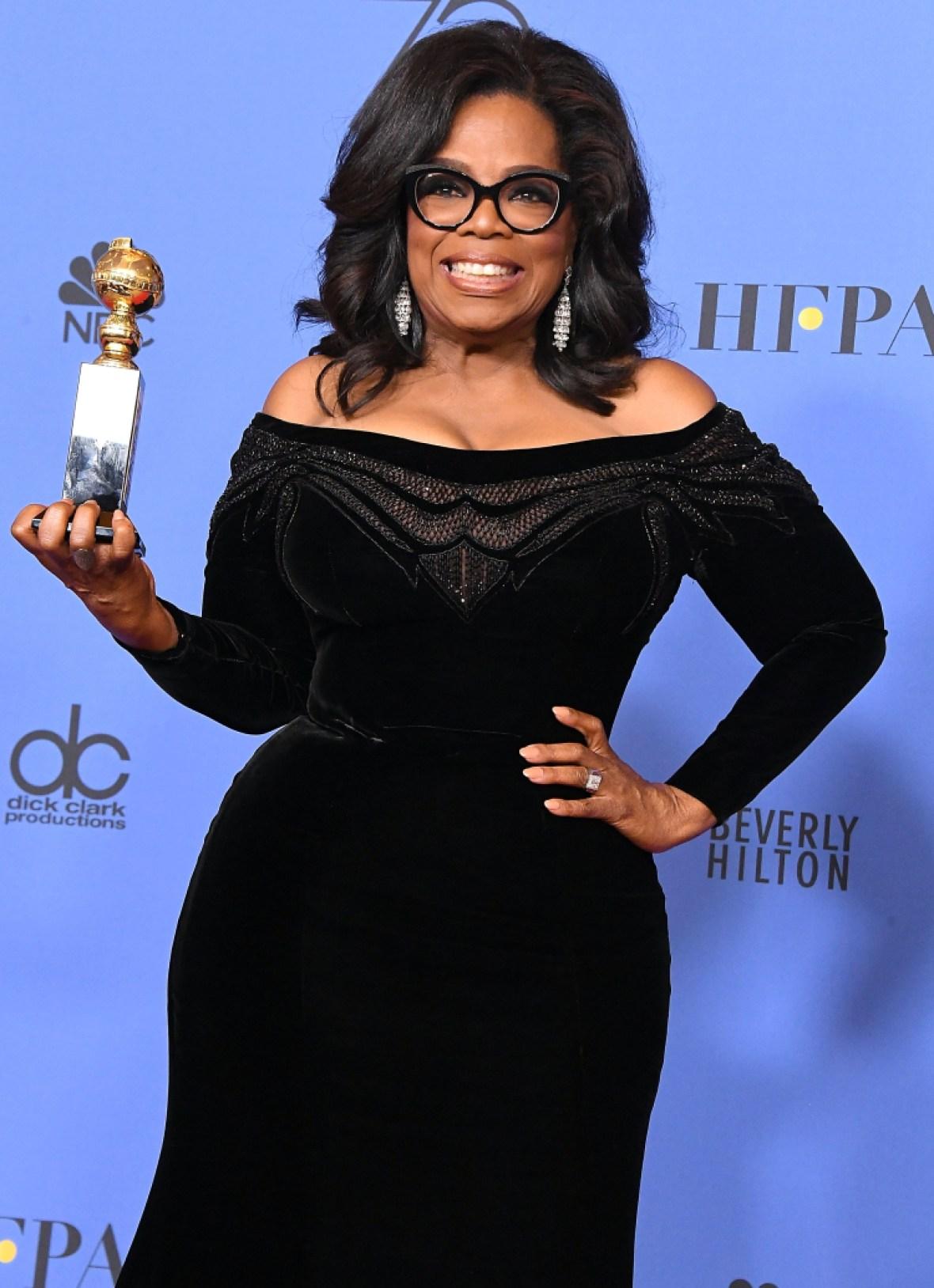 oprah wins award getty images