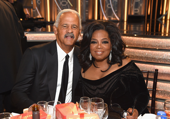 oprah and stedman, getty