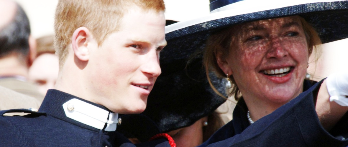 prince harry childhood nanny getty images