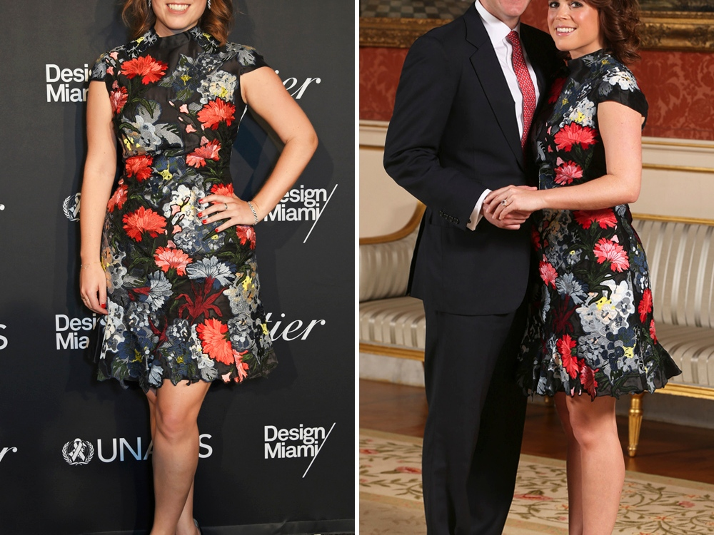 princess eugenie engagement dress getty images