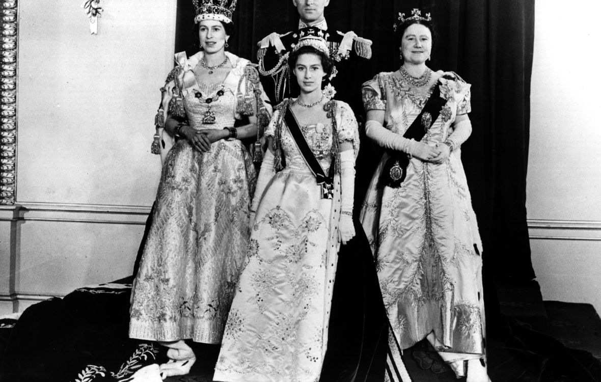 queen elizabeth coronation getty