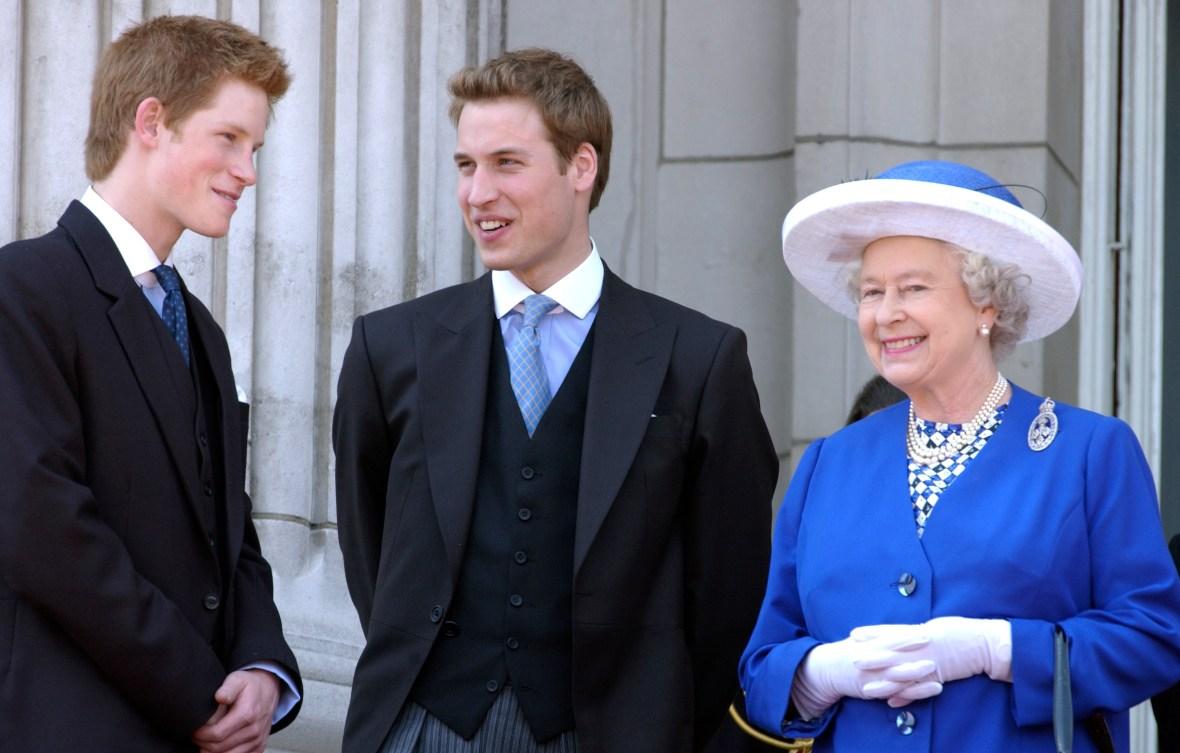 queen elizabeth grandchildren getty images