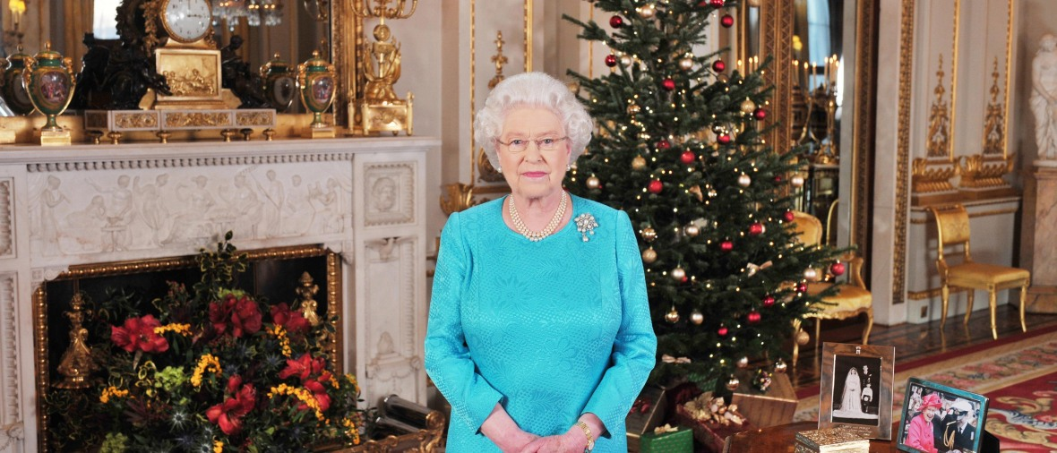 queen elizabeth christmas getty images