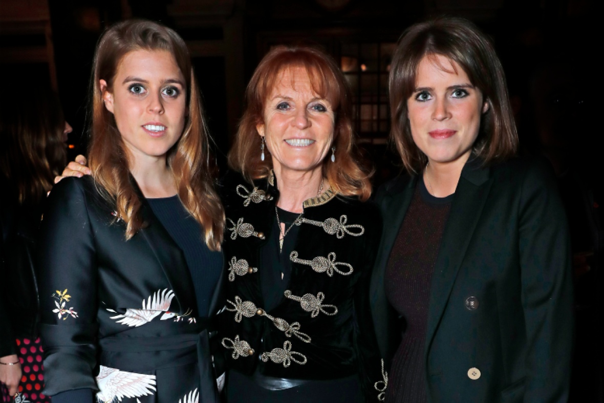 sarah ferguson daughters getty images