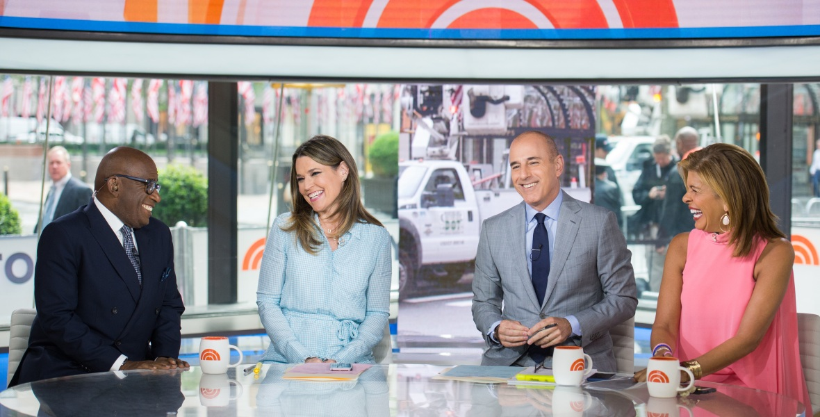 the today show anchors getty