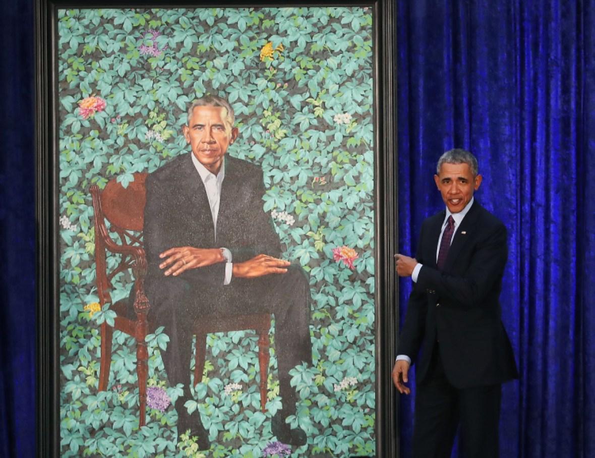 barack obama portrait getty images