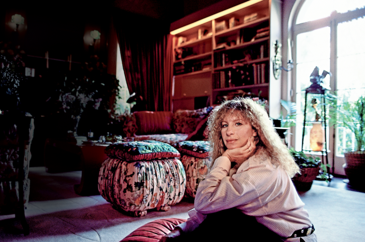 barbra streisand home getty
