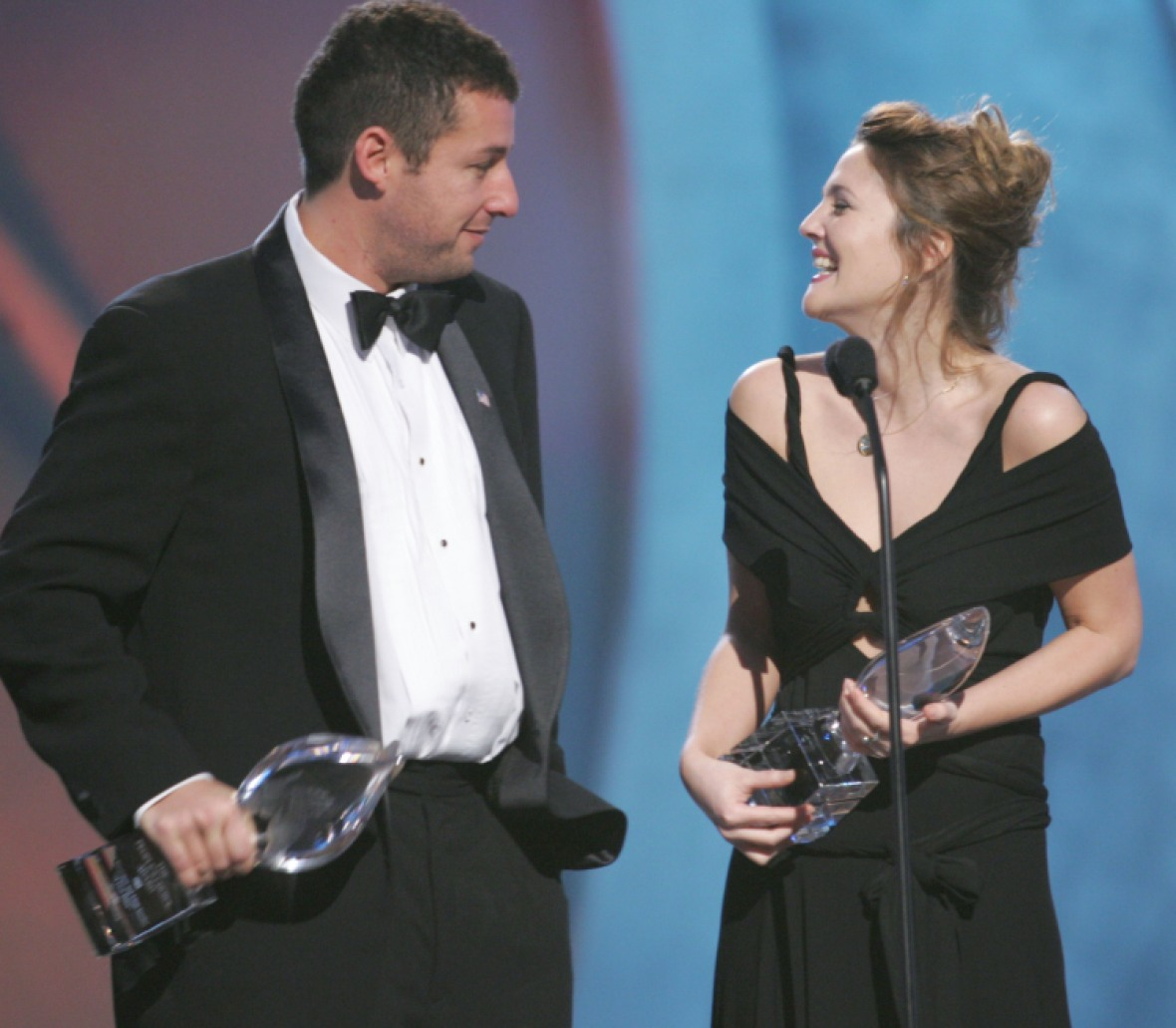 drew barrymore adam sandler getty images