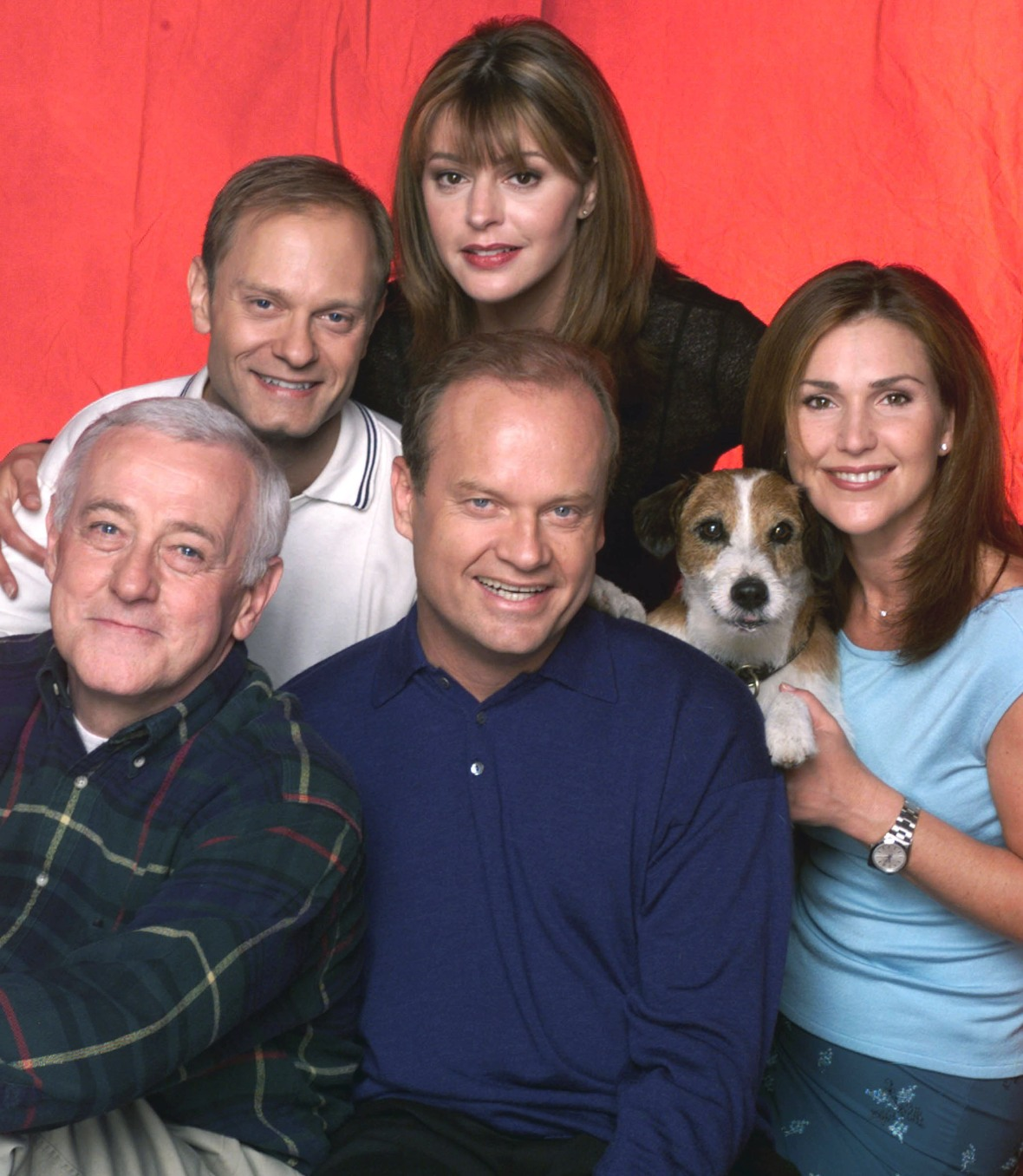 the cast of frasier getty images