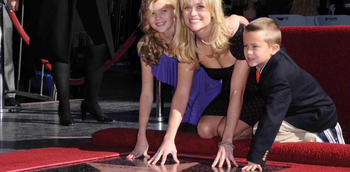 reese witherspoon hollywood walk of fame star 2010 getty