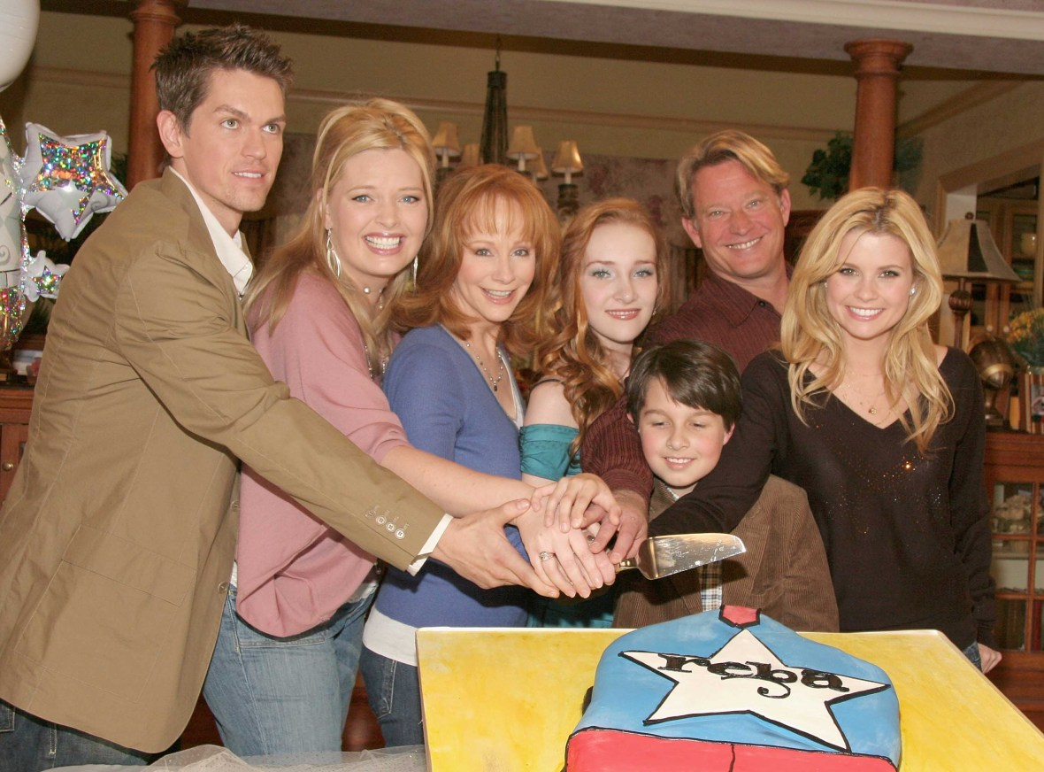 reba cast getty