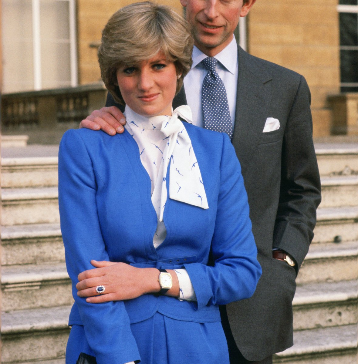 princess diana engagement photos