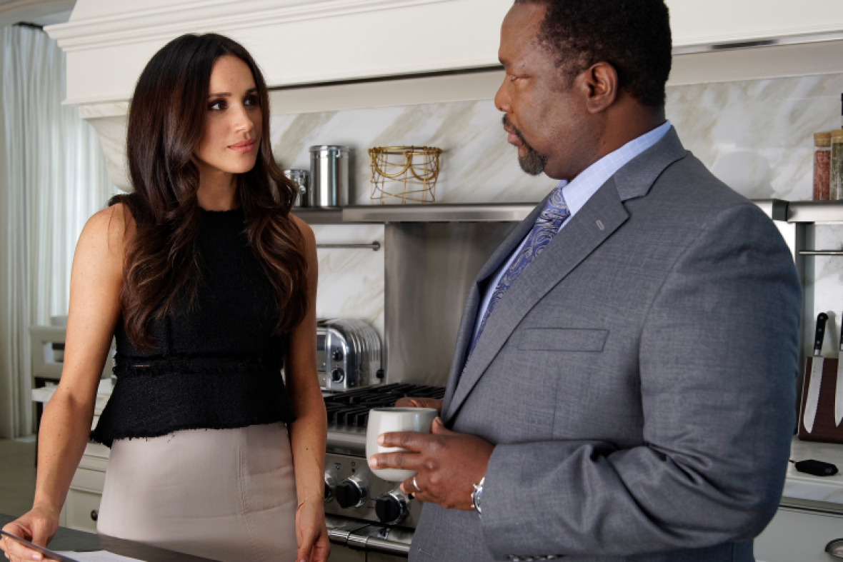 meghan markle wendell pierce suits getty