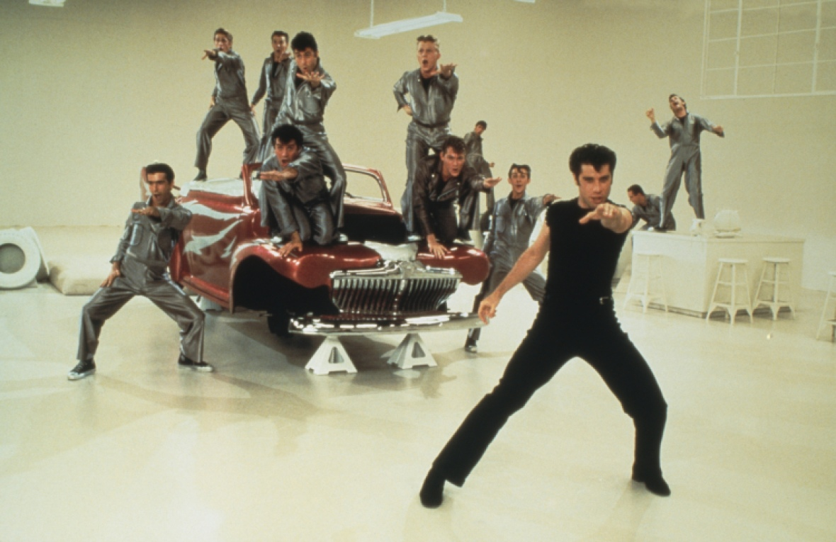 grease - greased lightning