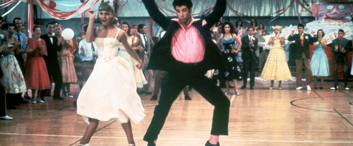 grease - school dance