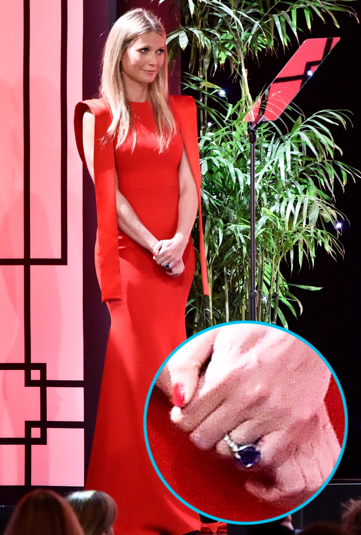 gwyneth paltrow engagement ring getty images