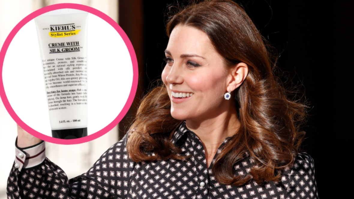 kate middleton hair products getty images