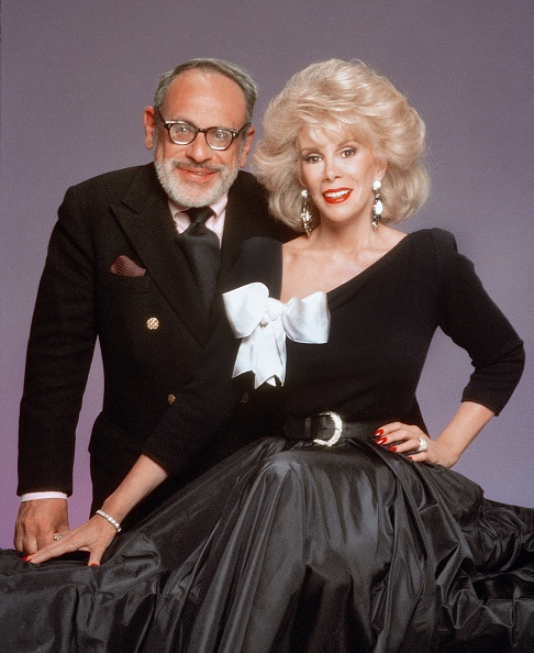 joan rivers and her husband edgar getty images