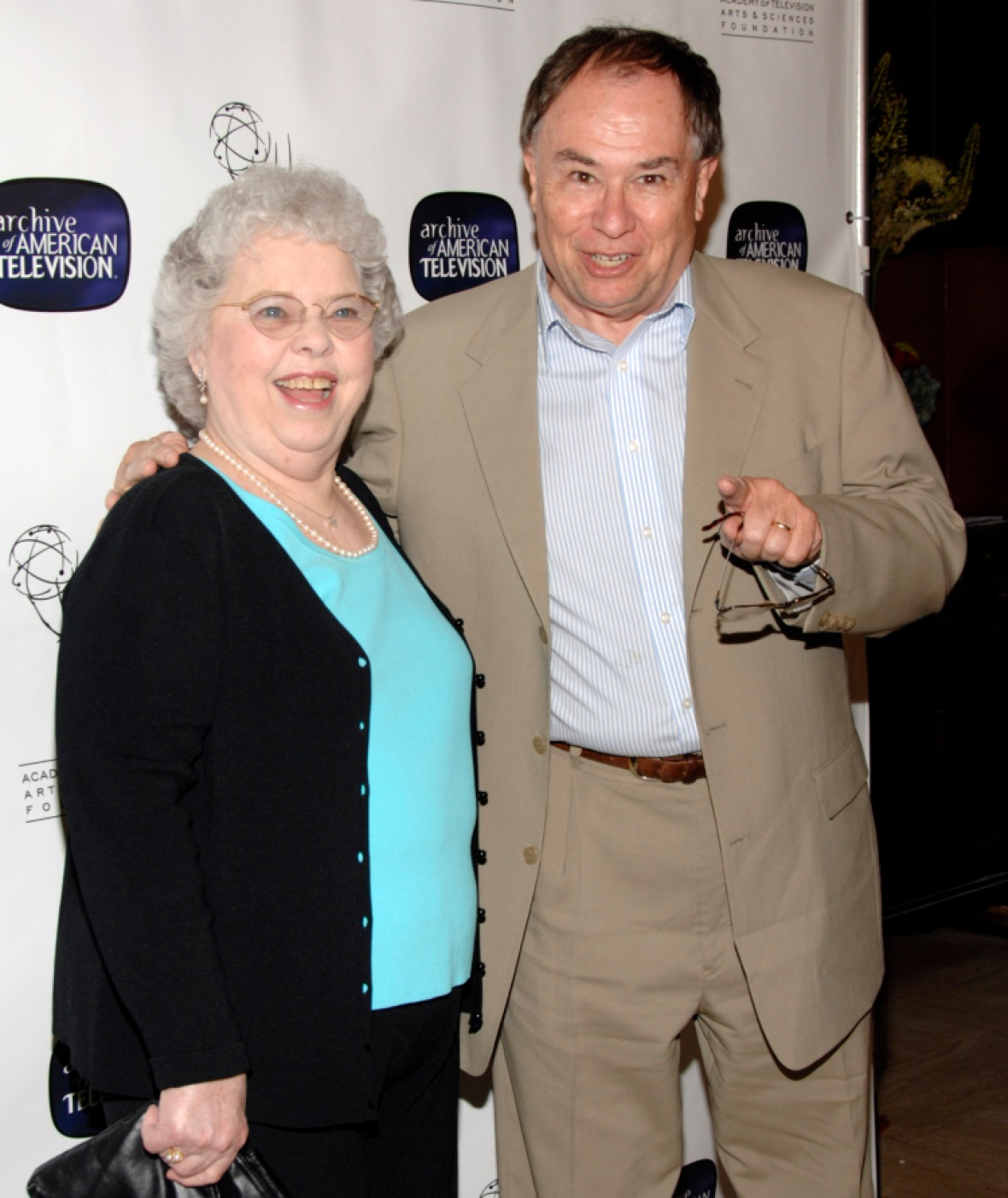 joanne rogers and david newell getty images