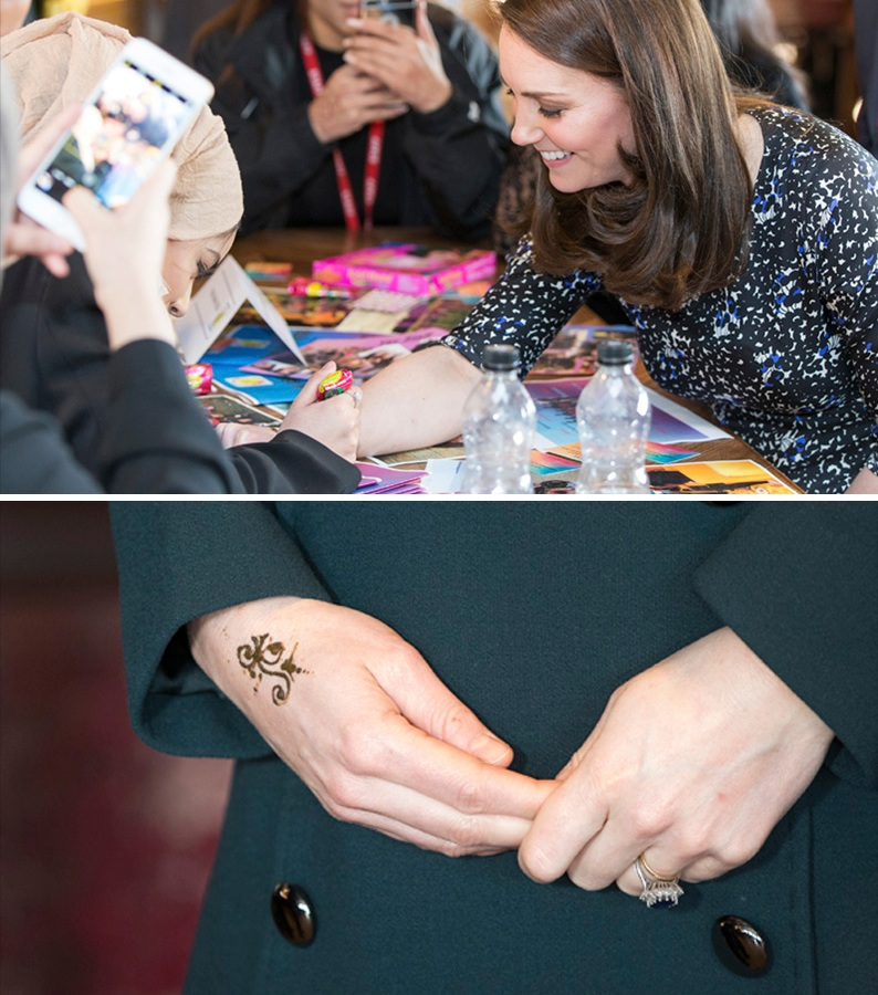 kate middleton tattoo getty images