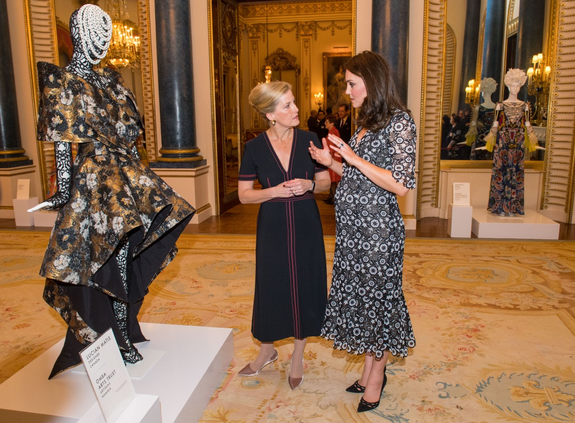 kate middleton and sophie of wessex getty images