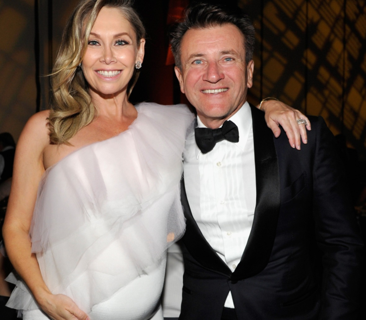 kym johnson robert herjavec getty