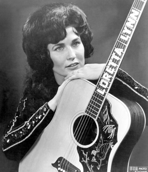 loretta lynn guitar getty images