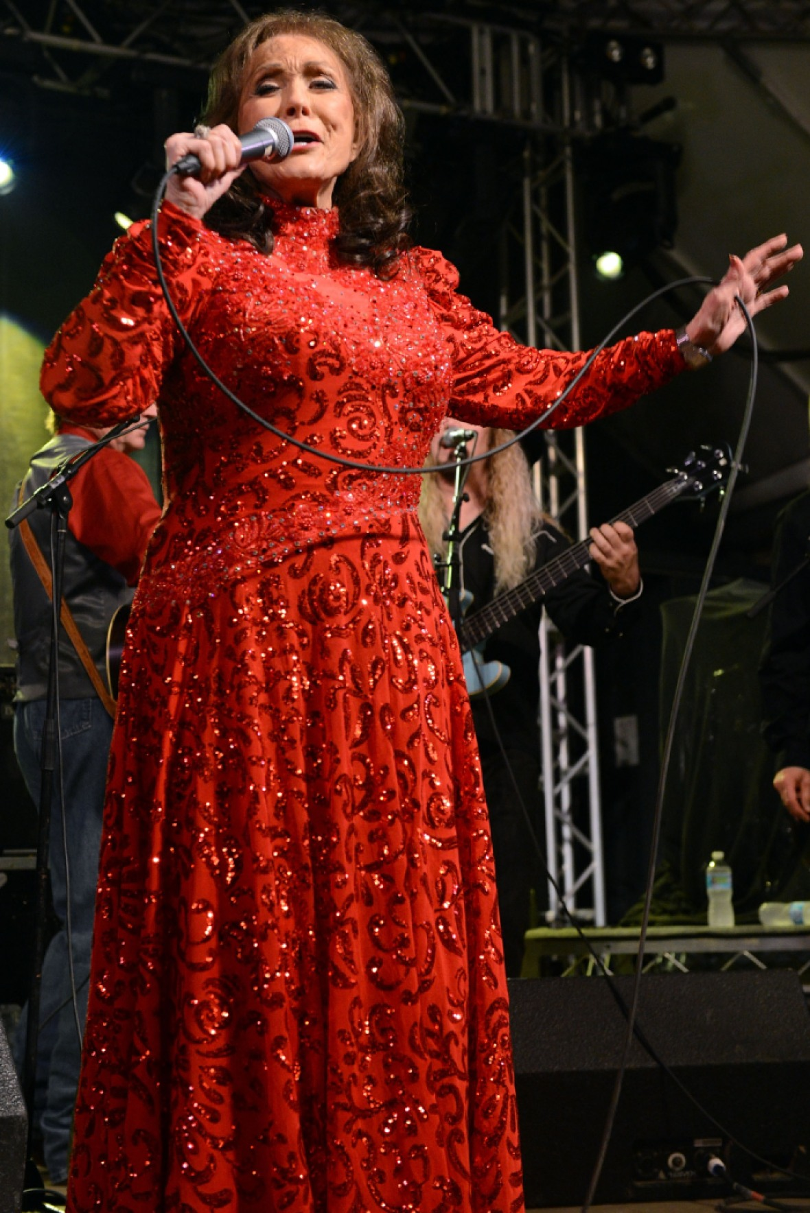 loretta lynn singing getty images