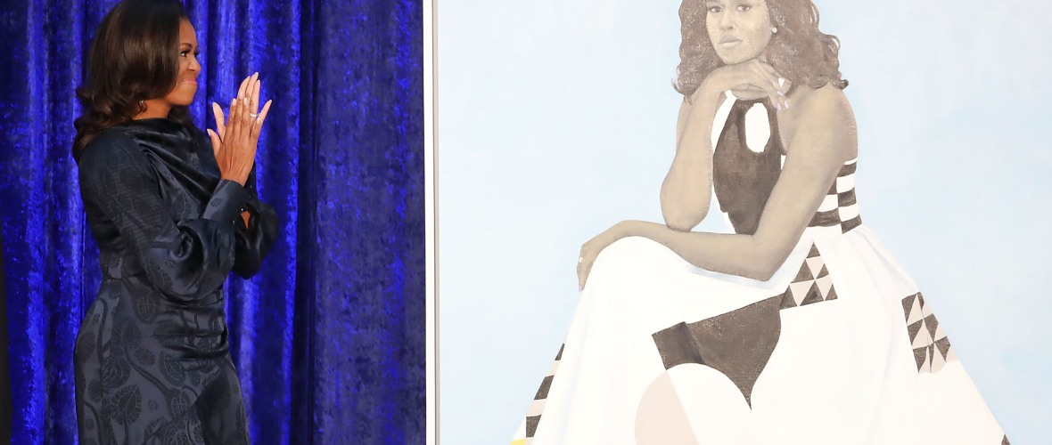 michelle obama portrait getty images
