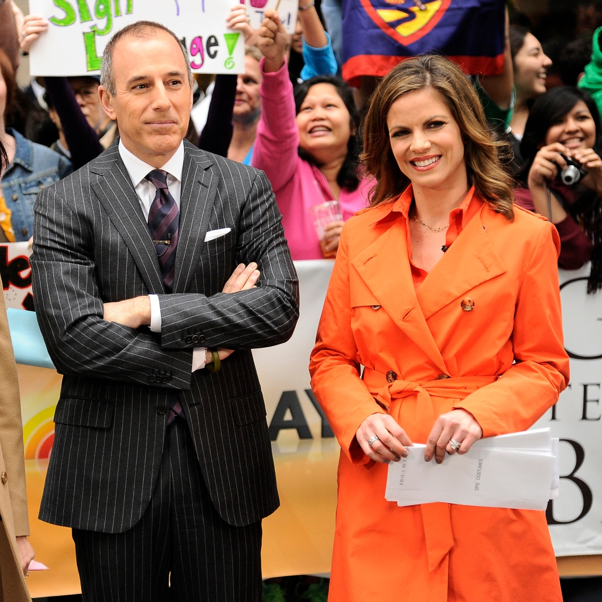matt lauer natalie morales getty images