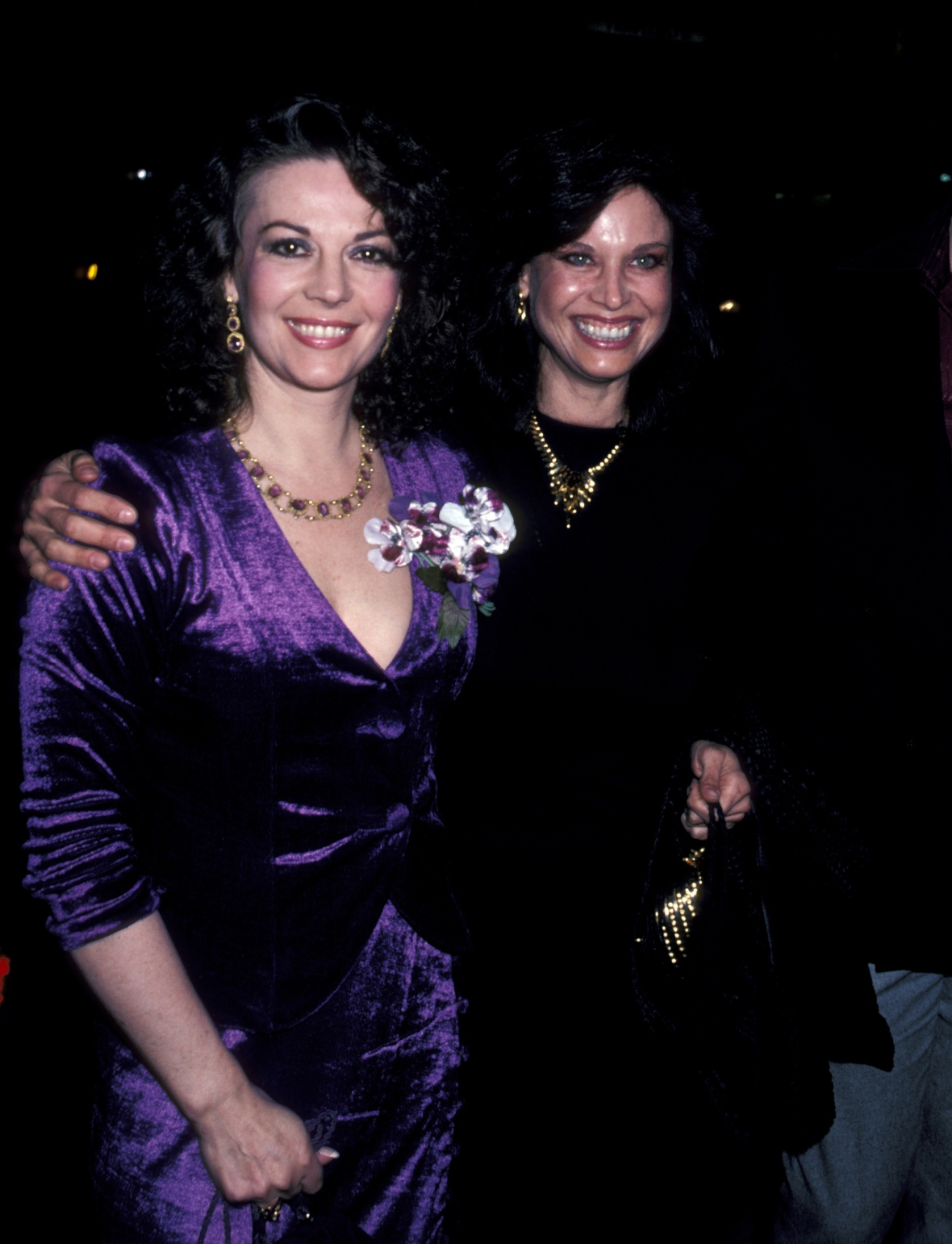 natalie wood and her sister lana getty images