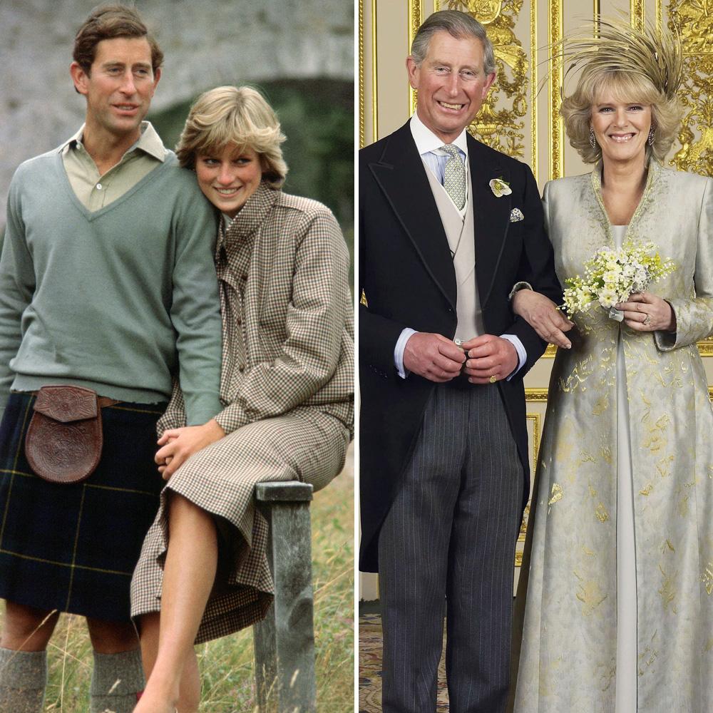 prince charles princess diana camilla parker bowles getty images