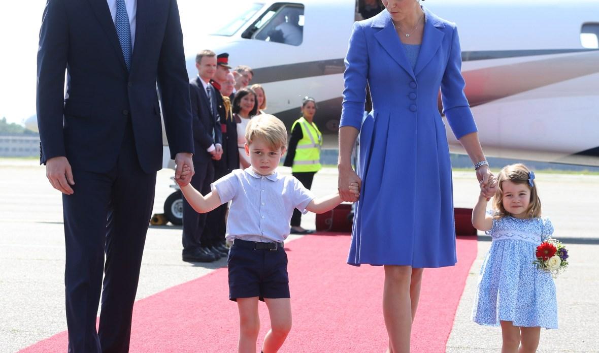 prince george kate middleton prince george princess charlotte getty images