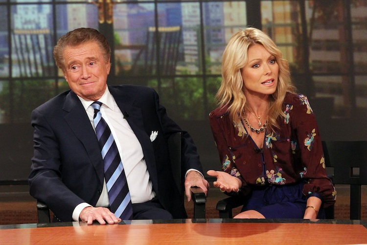 regis philbin kelly ripa getty