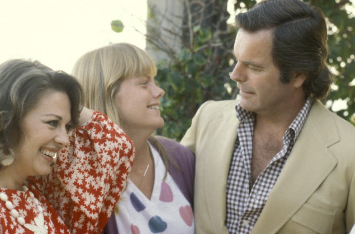 robert wagner, natalie wood, and katie wagner getty images