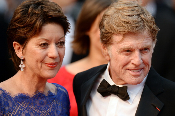 robert redford and his wife getty images