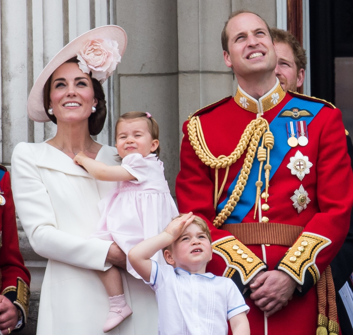 william kate george charlotte getty images