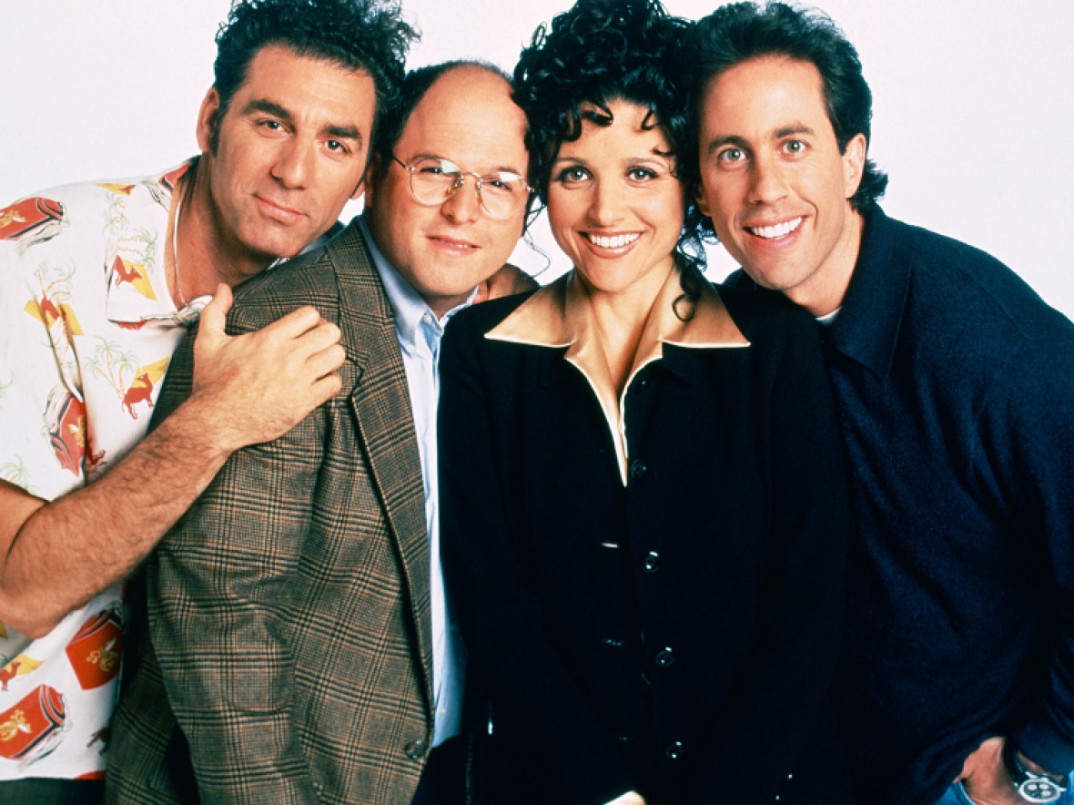 'seinfeld' cast getty images