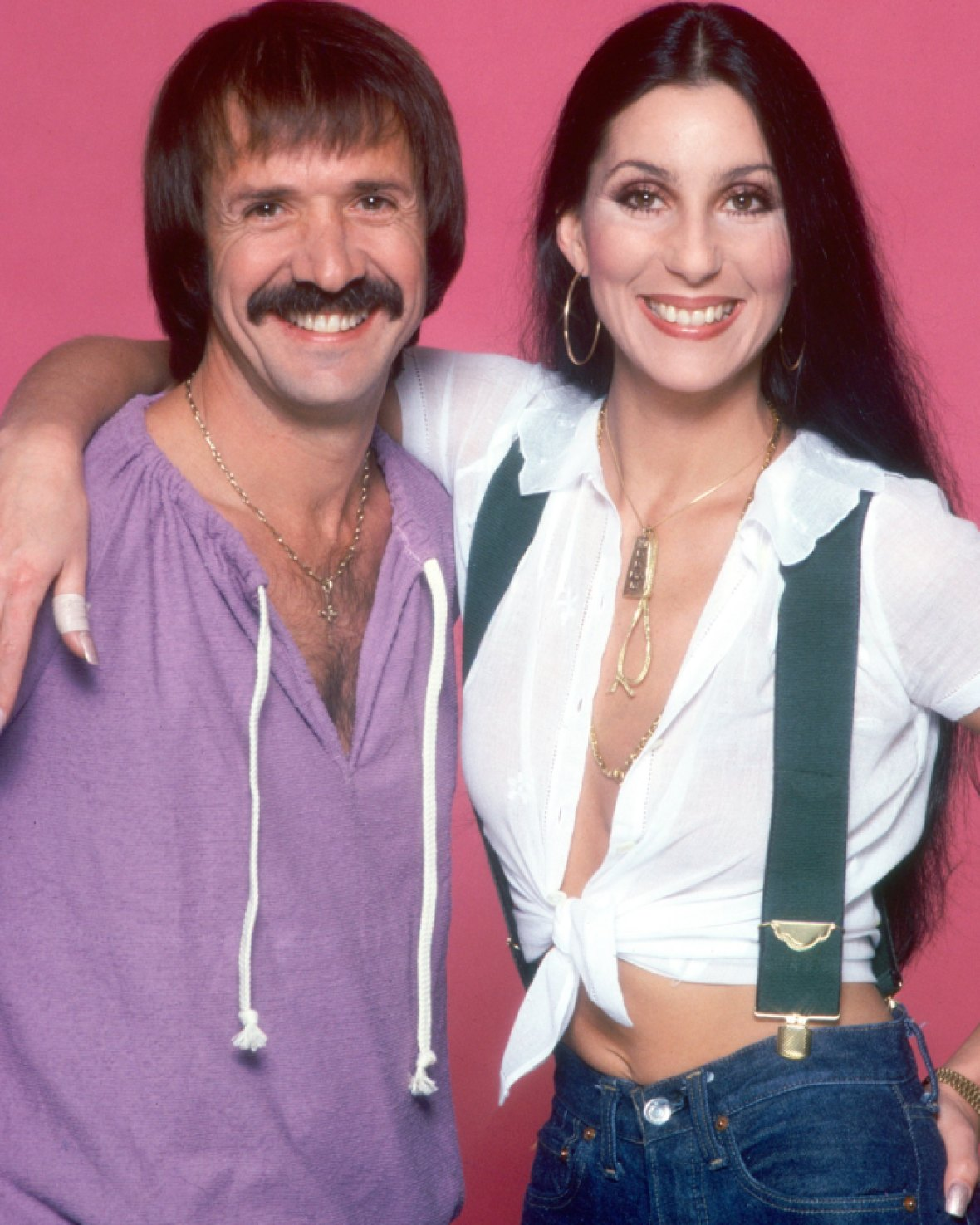 sonny cher getty images