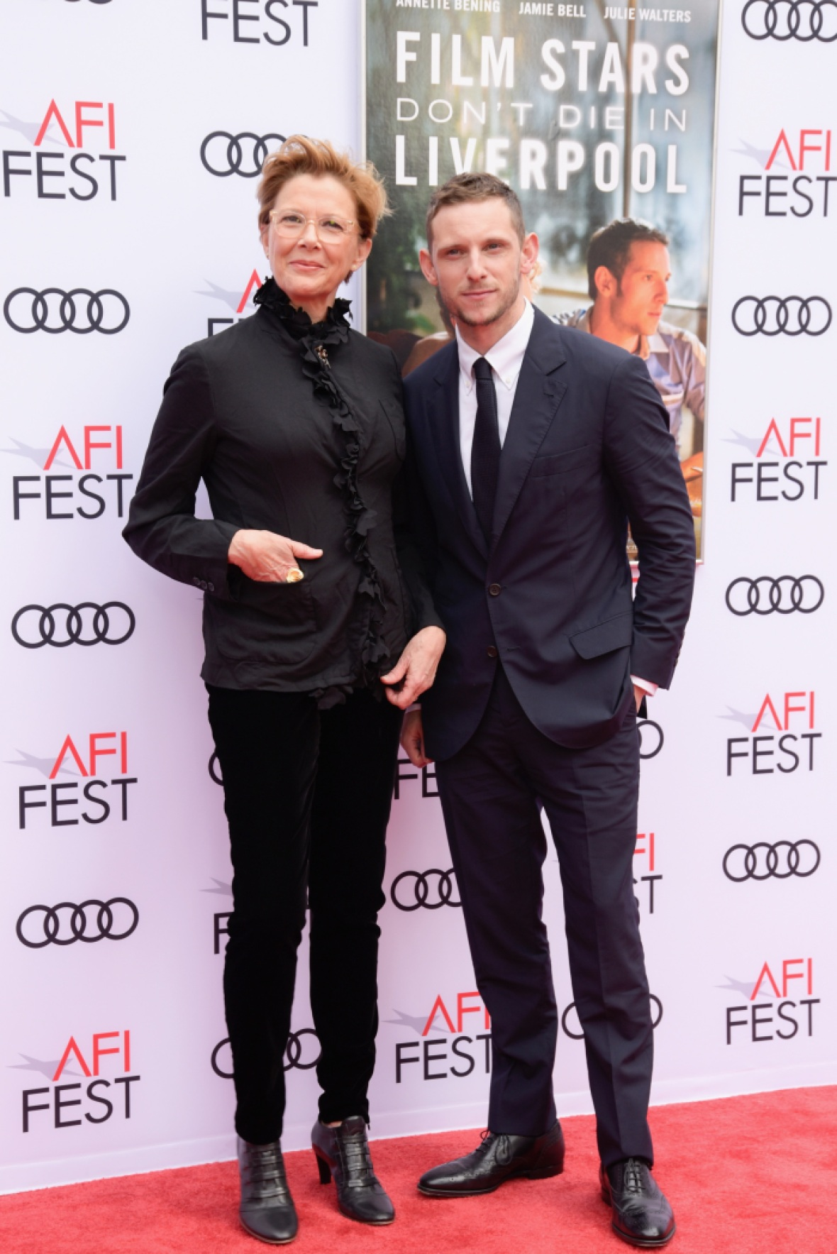 annette bening jamie bell getty images